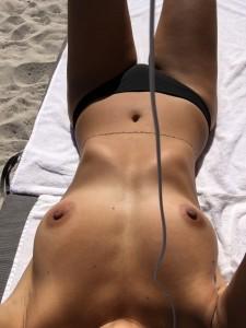 Lucy Aragon nipples