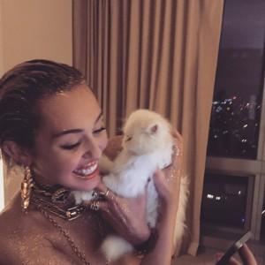 Miley Cyrus private photo