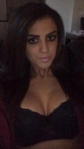 Sasha Gale cleavage