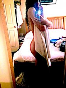 Sasha Gale naked selfie