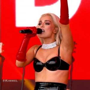 Bebe Rexha hot on stage