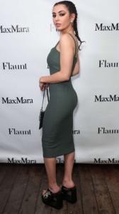 Charli XCX sexy dress