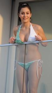 Chloe Goodman paparazzi bikini