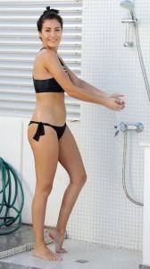 Chole Goodman black bikini
