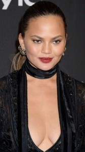 Chrissy Teigen big cleavage