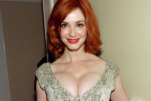 Christina Hendricks sexy tits
