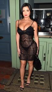 Demi Rose hot fuck dress
