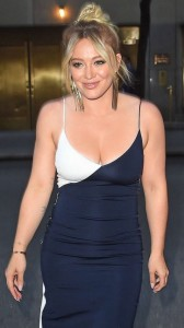 Hilary Duff cute dress