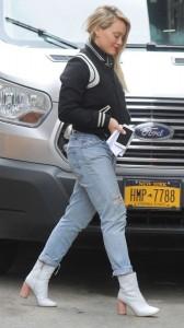 Hilary Duff street candids
