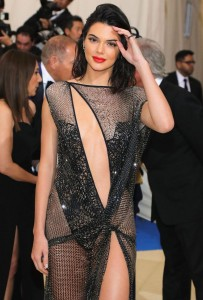 Kendall Jenner near nip slip