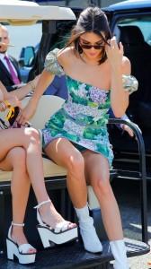 Kendall Jenner paparazzi upskirt