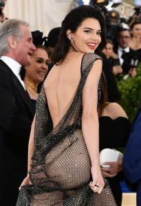 Kendall Jenner see thru dress