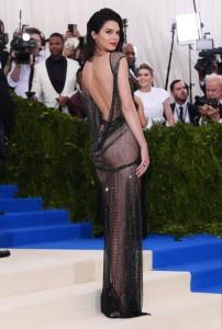 Kendall Jenner sexy see thru ass