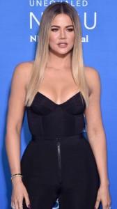 Khloe Kardashian hot cleavage