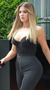 Khloe Kardashian sexy dress