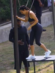 Kim Kardashian sexy ass