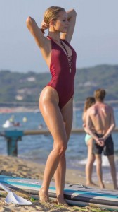 Kimberley Garner hot swimsuit
