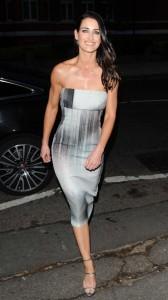Kirsty Gallacher hot tight dress
