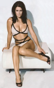 Kirsty Gallacher sexy bikini