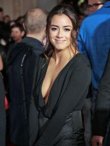 Chloe Bennet cleavage