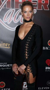 Hannah Ferguson cleavage