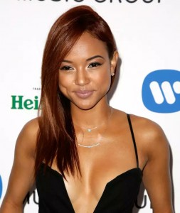 Karrueche Tran hot cleavage