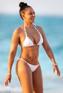 Mel B bikini candids
