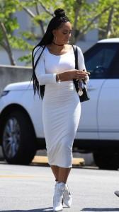 Mel B tight dress