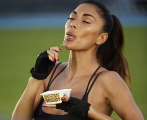 Nicole Scherzinger hot ads