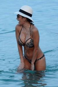 Nicole Scherzinger in hot bikini