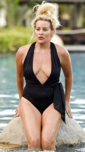 Selina Waterman Smith black swimsuit