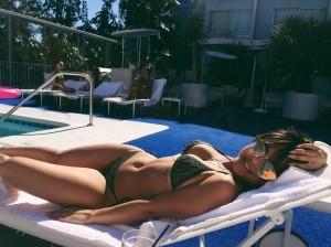 Stella Hudgens in sexy bikini