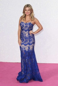 Zara Holland sexy dress