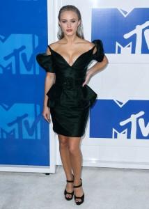 Zara Larsson hot cleavage
