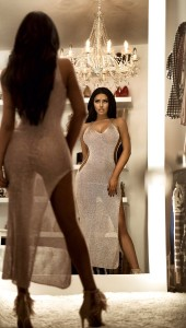Abigail Ratchford sexy see thru dress