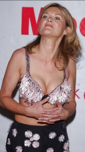 Anthea Turner hot cleavage