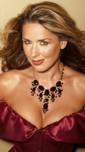 Claire Sweeney big cleavage