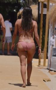 Eva Logoria sexy on beach