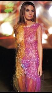 Gail Porter see thru dress