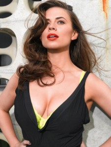 Hayley Atwell hot cleavage