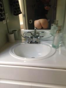 Jane Levy ass selfie