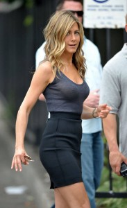 Jennifer Aniston see thru top