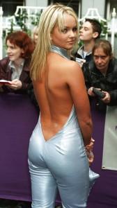 Jennifer Ellison sexy back