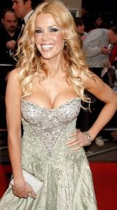Melinda Messenger big cleavage