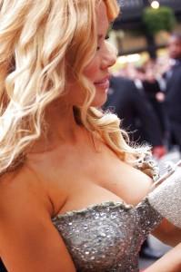 Melinda Messenger cleavage hot