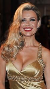 Melinda Messenger hot cleavage