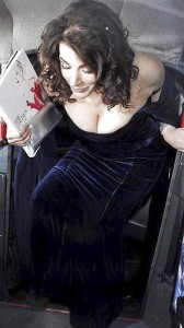 Nigella Lawson big cleavage