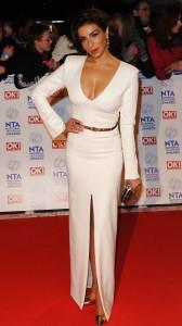 Shobna Gulati hot white dress
