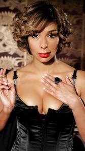 Shobna Gulati huge cleavage