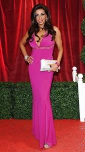 Shobna Gulati pink dress